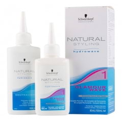 Kit permanente Glamour waves n°1 cheveux normaux  Natural Styling